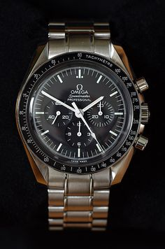 Omega Speedmaster Moonwatch, Speedmaster Professional, Metal Bracelets, Metal Chain, Omega Watch, Watches For Men, Accessories, Bracelet, Clock Art
