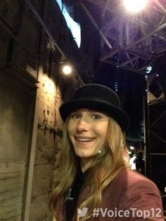 Backstage with Sawyer Fredericks#VoiceTop12!