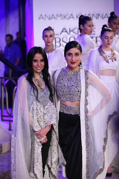 Lakmé Fashion Week – A spectacular Grand Finale by Anamika Khanna brings the season of Lakmé Fashion Week to a close Fashion Studio, Fashion Show, Lakme Fashion Week 2015, Ethnic Suit, Glam Slam, Anamika Khanna, Indian Fashion, Womens Fashion, Resort 2015