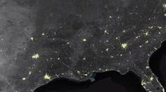 Les illuminations de Noël visibles… depuis l'espace !