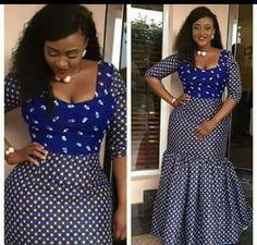 Ankara Fashion 2017 : See Latest Lovely Ankara Styles Collection - Owambe styles Latest African Fashion Dresses, African Dresses For Women, African Print Dresses, African Print Fashion, Africa Fashion, African Attire, African Wear, African Women, African Prints