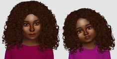 Sims 4 CC's - The Best: Kids & Toddlers Hair by Fabienne #toddlersims4