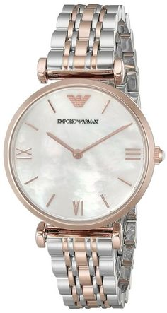Emporio Armani Classic Two-Tone Ladies Watch AR1683 – Jewel-Collection.Net