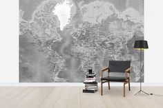 Panneau world map mid century modern mid century and walls gumiabroncs Gallery