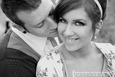 Chic Vintage 50's Retro Engagement Wedding Photography
