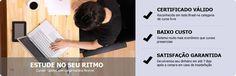 CursosVirtuais.net - São centenas de Cursos Online nas mais diversas áreas e especialidades, todos com certificado válido em todo o território nacional, Com carga horária flexível e o melhor, com preços a partir de 15,00 reais. Confira esta oportunidade de estudar em casa, com qualidade e preços acessíveis...