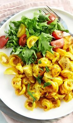 Palermon pasta | Maku Diet Recipes, Vegan Recipes, Cooking Recipes, Recipies, Good Food, Yummy Food, Healthy Food, Just Eat It, I Foods