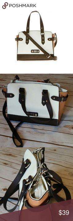 "Rosetti Color block Handbag Silver hardware - crossbody strap -  top zip closure - interior pockets - 10"" X 7.5"" X 4"" - brand new with tag - 10% off bundles Rosetti Bags Shoulder Bags"