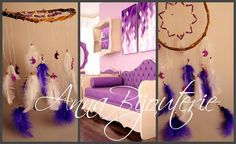 Purple dream Nursery Bаbу Mobile Crib Decor Mobiles bedding Dream Catcher Kids…