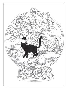 Cat Colors Adult Coloring Lovers