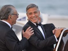 George clooney salute ultimate bachelor