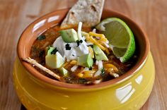 This is the best sounding tortilla soup recipe. I will have to try this one. Totally craving soup lately. mmmmm.... soup....