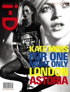 Kate Moss For ID Magazine