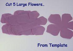 DIY Sash | DIY Tutorial: Nina Ricci Inspired Flower Sash