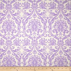 """Premier Prints Abigail Lavender from @fabricdotcom  Screen printed on slub duck; this versatile """"Drew"""" is a lighter weight fabric and perfect for window accents (draperies, valances, curtains and swags), accent pillows, bed skirts, duvet covers, upholstery and other home decor accents."""