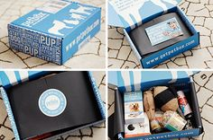 Monthly Pet Subscription Box from PetBox - Dog Milk Freebies By Mail, Dog Milk, Pet Boarding, Monthly Subscription Boxes, Cool Packaging, Packing Boxes, Dog Items, Box Design, Free Subscriptions