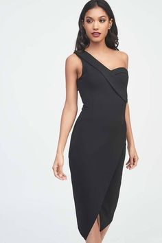 a92839a8c6a8 Lavish Alice Black One Shoulder Ponte Midi Dress Lavish Alice Discount Code  : Material: Rayon Nylon Elastane. Lavish Alice Care: Hand Wash Only.