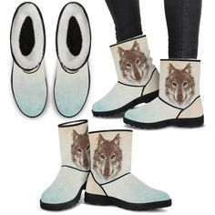 Dog Pattern, Animal Design, Wearable Art, Ugg Boots, Uggs, Custom Design, Shoes, Products, Fashion