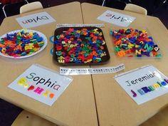 20 FREE Name Activities for the First Week of Kindergarten (Kindergarten Chaos)