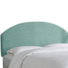 Rixensart Velvet Upholstered Headboard