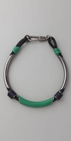 3.1 philip lim single leather circuit collar necklace $175 #accessories