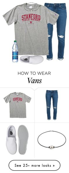 """""""Looking at my old sets like what is wrong with your fashion sense"""" by katieduffyy on Polyvore featuring Paige Denim and Vans"""