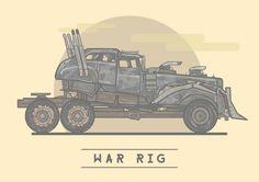 War Rig - Mad Max: Fury Road - Stuart Shaw