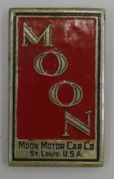 Moon Car Badge