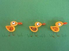 Yellow ducks on green background blank card by ElPetitTaller, €4.00