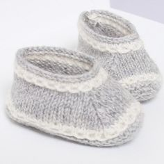 Baby Booties / Knitting Pattern Baby by LittleFrenchKnits on Etsy