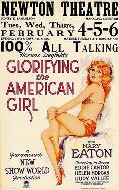Glorifying The American Girl, 1929