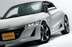 "Car: HONDA: S660: Photos from the new model presentation of S660 (via Japan web car media ""Car Watch"") Part 2: official photos and specs.  (http://car.watch.impress.co.jp/docs/news/20150330_695122.html) [Images] Honda, ""minds to be passionate [Heart beat sports] S660"" - Car Watch / Adopt an LED headlight accent exterior design, excellent light distribution and to assist driving at night time. To place the LED position the light guide type on the underside of the light unit."