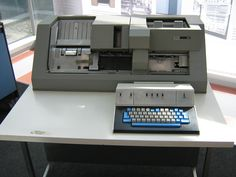 IBM 029 Keypunch.  I spent many a night doing keypunch work for part time money.  Also used them in high school 'data processing' class as it was called back then.