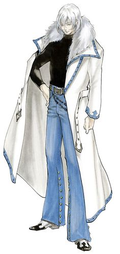 Soma Cruz from Castlevania: Aria of Sorrow
