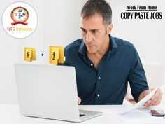 NTS Infotech offers you to earn money by working from home- Copy Paste Job. For more visit http://www.ntsinfotechindia.com/