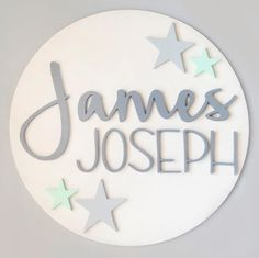 Mod Wood Co : Soft pastel grey wood sign for baby nursery, grey wood name sign for kids Rooms, nursery decor // Wooden Name Signs, Wood Names, Baby Name Signs, Baby Names, Nursery Name, Nursery Grey, Nursery Decor, Pastel Nursery, Baby Letters