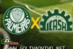 Assistir Palmeiras x Icasa ao vivo 21h50 Brasileirão Série B