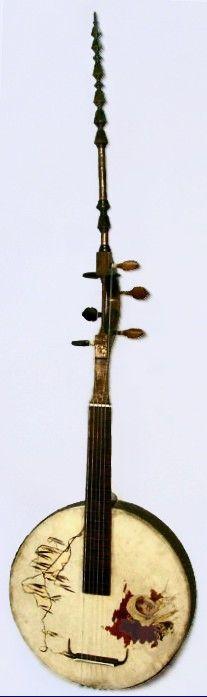Carlo Bugatti Fantasy Stringed Instrument