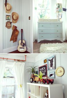vintage cowboy nursery - you know i love this! Already have some little chaps I could hang!
