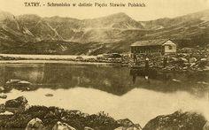 Tatry, schronisko w Dolinie Pięciu Stawów Polskich - Górale i Tatry na starych fotografiach