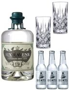 Six Ravens Gin Tonic Set