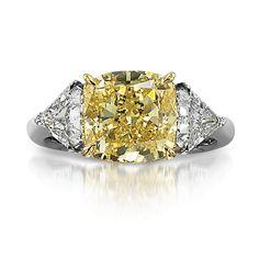 Yellow Diamond Ring l Cora International LLC