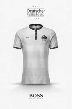 Fashion x National Team Kits by Emilio Sansolini | #Germany x Boss