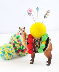 There are standard tomato pincushions, but if you want something really different check out this collection of 12 awesome DIY pincushions!