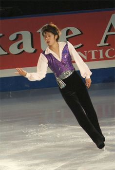 Daisuke Takahashi (高橋 大輔 Takahashi Daisuke?, born March 16, 1986 in Kurashiki, Okayama Prefecture, Japan) is a Japanese figure skater. He is the 2005, 2006 and 2007 Japanese national champion, the 2008 Four Continents Champion, and the 2007 World silver medalist. He represented Japan at the 2006 Winter Olympics.