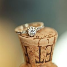 Creative Vintage Engagement Ring