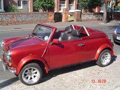 Red Mini Cooper, Mini Cooper Classic, Classic Mini, Mini Me, Cars, Brave, Farmhouse, Vehicles, Ideas