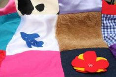 Sensory Blanket Kit - The Childminding Shop  Make your own sensory blanket.