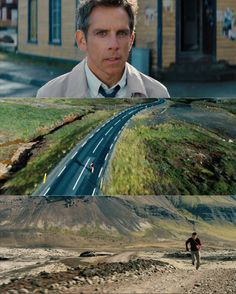 The Secret Life of Walter Mitty Movies Showing, Movies And Tv Shows, The Truman Show, Life Of Walter Mitty, Ben Stiller, Cinematic Photography, Light Film, Beautiful Film, Film Making