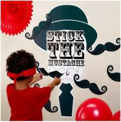 mustache party supplies | Mustache Party Theme for Little Boys {Party Supplies, Games, Party ...
